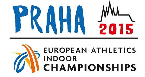 Logo halov�ho ME v atletice, kter� bude hostit v roce 2015 Praha.