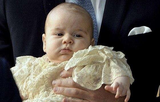 Britský princ George (Londýn, 23. října 2013)