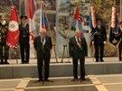 Prezident Miloš Zeman předal v Litoměřicích společně s ústeckým hejtmanem...