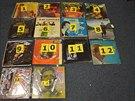 Zásilka téměř 1,5 kg kokainu se ukrývala v obalech čtrnácti gramofonových desek