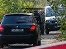 Policisté našli ve Vltavě u Barrandovského mostu lidskou nohu (26.10.2013)