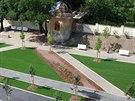 �erstv� obnoven� st�edn� ��st parku ve Znojm�