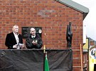 Bývalí členové IRA přišli vzdát hold Thomas Begleymu (20. října)