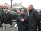 Náčelník generálního štábu Petr Pavel a ministr obrany Vlastimil Picek