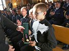 Ministr vnitra Martin Pecina ud�loval medaile HZS �R. Mezi ocen�n�mi byl i