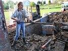 Farma Arm�dy sp�sy ve Strahovic�ch na Opavsku, kde pracuj� lid� bez domova....