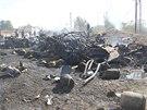 Na kontrolním stanovišti v syrském městě Hamá se odpálil sebevražedný...