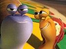 Záběr z animovaného filmu Turbo