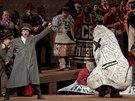 Z představení Nos, které do kin odvysílala Metropolitní opera.