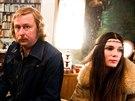 Manžele Havlovy hrají v seriálu České století Tereza Hofová (vlevo) a Marek Daniel. Havlovu milenku si zahrála Táňa Hlostová.