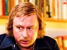 Marek Daniel jako Václav Havel při natáčení seriálu České století