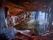Výstava Podzemí Krkonoš začala na trutnovské staré radnici v úterý.