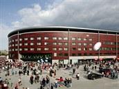 Fotbalov� stadion v Edenu