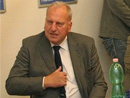 Bývalý moravskoslezský hejtman a nyní europoslanec Evžen Tošenovský neskrýval