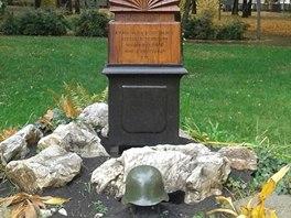 Pomník padlým z maďarské Druhé armády v Miskolci.