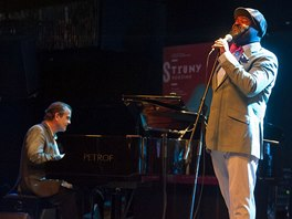 Struny podzimu 2012 - Gregory Porter a Chip Crawford v Lucerna Music Baru 9.