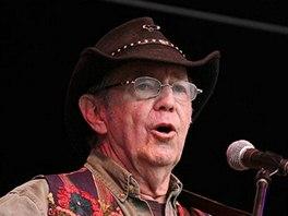 Noel Harrison při vystoupení v Glastonbury 2011