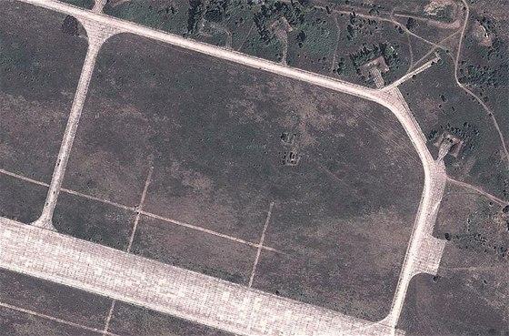 Stará letecká základna Deveselu v Rumunsku