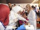 V posti�en� oblasti ji� za�ala imunizace, na kter� se pod�l� i OSN (30. ��jna)