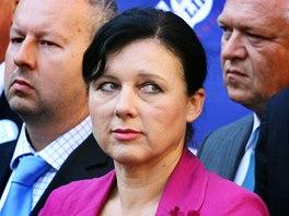 Věra Jourová, místopředsedkyně hnutí ANO