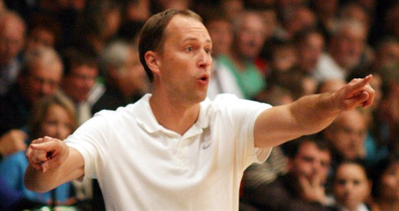 Petr Czudek, tren�r basketbalov� Opavy