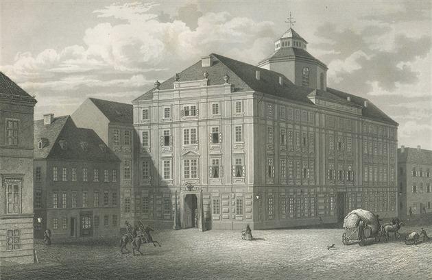 Kasárna druhého pluku četnictva v Praze