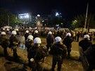 Řecká policie obsadila sídlo státní televize (7. listopadu 2013)