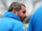 Alexandra Nováka přistihl fotograf na teplickém stadioně v bundě tamního...