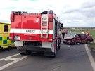Policisté museli u Kolína řešit krátce po sobě dvě nehody v úseku asi 150 metrů.
