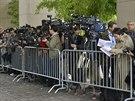 Jednání v Ženevě přihlížely desítky novinářů z celého světa (9. listopadu)