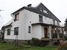 Dům v Raškovicích na Frýdecko-Místecku, kde řádil vrah. (5. listopadu 2013)