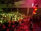 Kapela Kryštof během klubového turné k albu Inzerát v karlovarském Lidovém domě