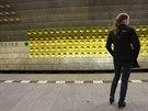 Trasu metra A vybrali organizátoři záměrně, je totiž nejméně vytížená (9....