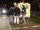 Muž se v Bezně na Mladoboleslavsku zabarikádoval s rodinou v benzínem politém...