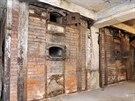 Mohli ale také nakouknout do starých pecí, v nichž se používal koks.