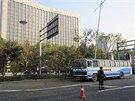 Výbuch před sídlem Komunistické strany Číny v severočínském městě Tchaj-jüan