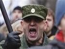 Protesty v Rusku má pod kontrolou jak policie, tak vojsko ministerstva vnitra