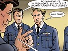 Z komiksu Generál Fajtl