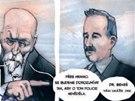 Z komiksu Češi - Jak Masaryk vymyslel Československo