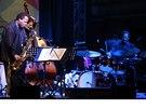 Wayne Shorter Quartet v Lucerně, 6. 11. 2013 (zleva Wayne Shorter, John