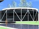 Vizualizace budoucí podoby termálního balneoparku ve Velkých Losinách.