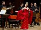 Americká sopranistka Joyce DiDonatová vystoupila ve Dvořákově síni pražského...