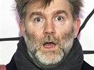 James Murphy z kapely LCD Soundsystem na YouTube Music Awards v New Yorku.