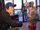 Michal Mal�tn� s dcerou Kate�inou