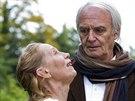 Didier Flamand a Kati Outinen ve filmu Klauni