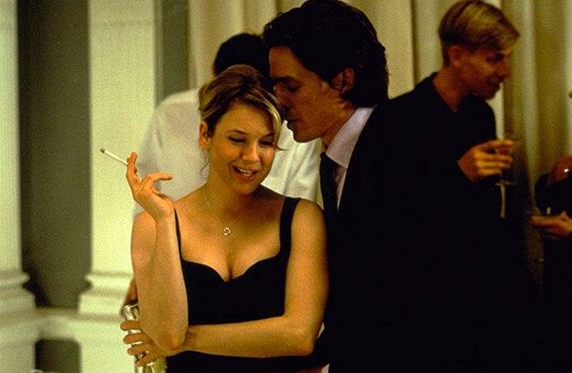 Z filmu Deník Bridget Jonesové (Renée Zellwegerová a Hugh Grant)