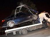 V pozdních večerních hodinách odtáhla městská policie Vítu Bártovi automobil...