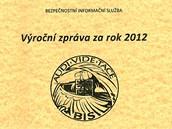 Výroční zpráva BIS za rok 2012