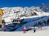 Chamonix, oblast Argentiere a Grand Montet, Francie