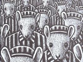 Ukázka z komiksu Maus